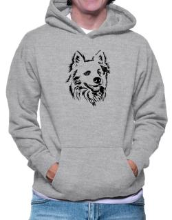 """ Australian Cattle Dog FACE SPECIAL GRAPHIC "" Hoodie"