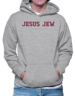 Jesus Jew - Simple Athletic Hoodie