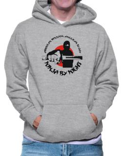 American Mission Anglican By Day, Ninja By Night Hoodie