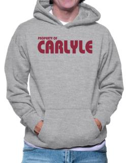 Property Of Carlyle Hoodie
