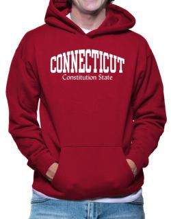 State Nickname Connecticut Hoodie