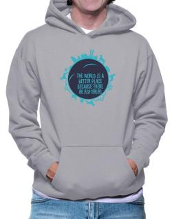 Better Place Irish Terriers Hoodie