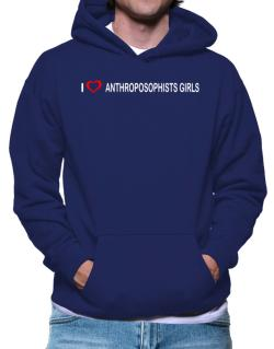 I love Anthroposophists Girls  Hoodie