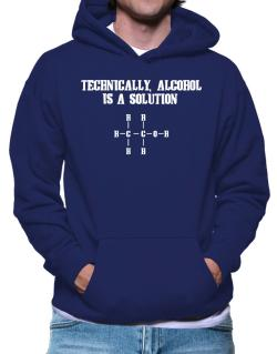 Alcohol is a solution Hoodie