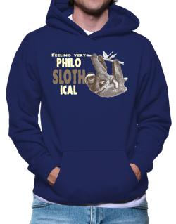 Polera Con Capucha de Philosophical Sloth