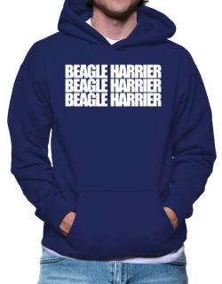 Beagle Harrier three words Hoodie