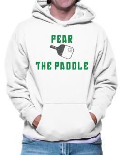 Polera Con Capucha de Fear the Paddle Pickleball