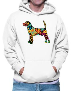 Psychedelic North Country Beagle Hoodie