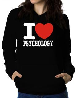 Polera Con Capucha de I Love Psychology