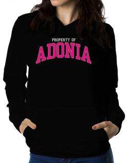 Property Of Adonia Women Hoodie