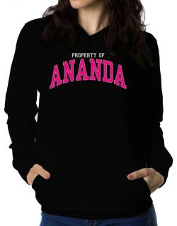 Property Of Ananda Women Hoodie