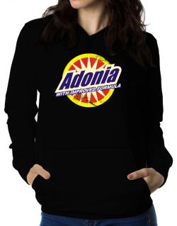 Adonia - With Improved Formula Women Hoodie
