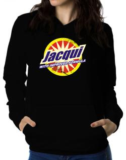Jacqui - With Improved Formula Women Hoodie
