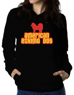 Breed Color American Eskimo Dog Women Hoodie