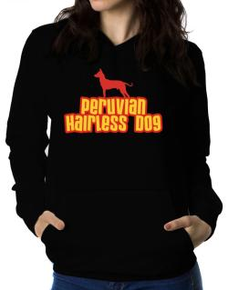 Breed Color Peruvian Hairless Dog Women Hoodie
