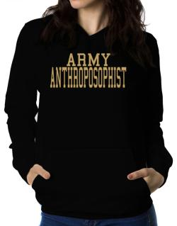 Army Anthroposophist Women Hoodie