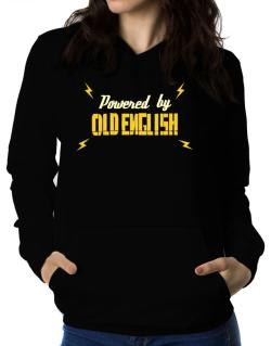 Powered By Old English Women Hoodie