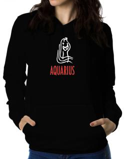 Aquarius - Cartoon Women Hoodie