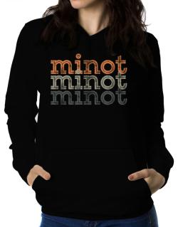 Minot repeat retro Women Hoodie
