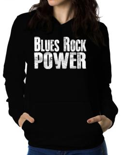 Blues Rock power Women Hoodie