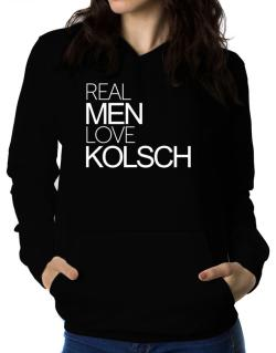 Real men love Kolsch Women Hoodie
