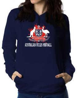 Australia Australian Rules Football / Blood Women Hoodie