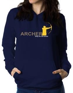 Archery - Only For The Brave Women Hoodie