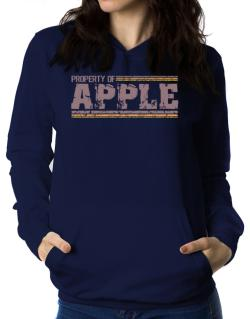 Property Of Apple - Vintage Women Hoodie
