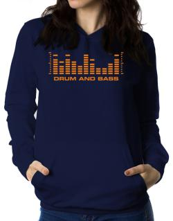Drum And Bass - Equalizer Women Hoodie