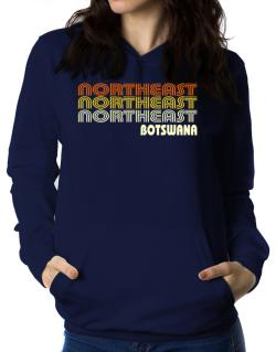 Retro Color Northeast Women Hoodie