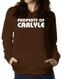""" Property of Carlyle "" Women Hoodie"