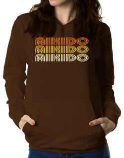 Aikido Retro Color Women Hoodie