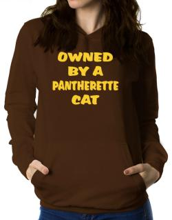 Owned By S Pantherette Women Hoodie