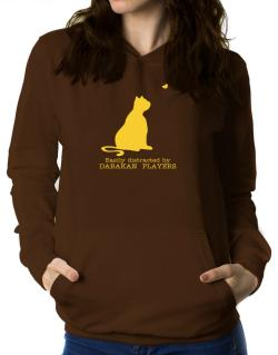 Easily Distracted By Dabakan  players Women Hoodie
