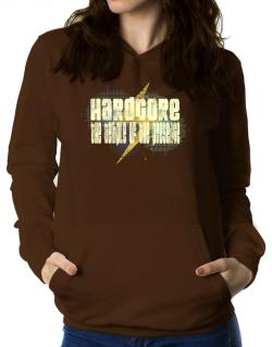 Hardcore The Temple Of The Presence Women Hoodie