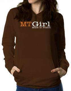 Girl Made In Polson Women Hoodie