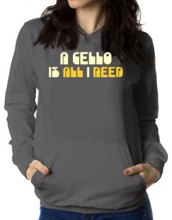 A Cello Is All I Need Women Hoodie
