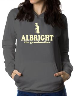 Albright The Grandmother Women Hoodie
