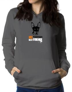 """ Fox Terrier MY BEST FRIEND - URBAN STYLE "" Women Hoodie"