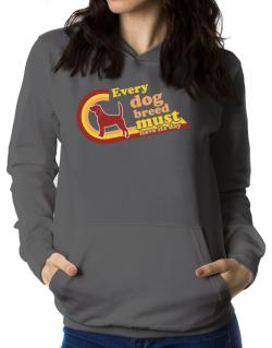 Beagle : Every Dog Breed Must Have Its Day! Women Hoodie