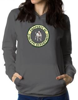 """ PROPERTY OF American Bulldog ATHLETIC DEPARTMENT TRANSFER "" Women Hoodie"