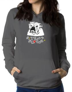 American Bulldog True Love Women Hoodie