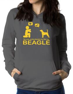 No One Understands Me Like My Beagle Women Hoodie