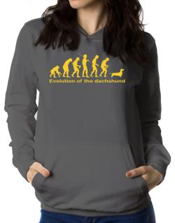 Evolution Of The Dachshund Women Hoodie