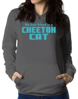 My Best Friend Is A Cheetoh Women Hoodie