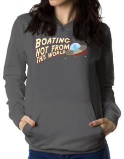 Boating Not From This World Women Hoodie