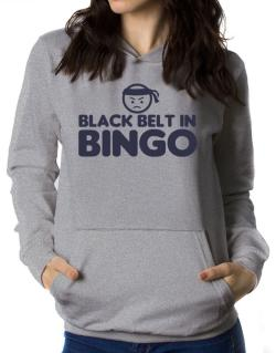 Black Belt In Bingo Women Hoodie