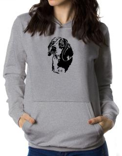 Beagle Face Special Graphic Women Hoodie