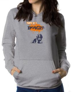 Owned By A Beagle Women Hoodie