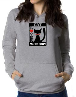 Cat Lover - Maine Coon Women Hoodie
